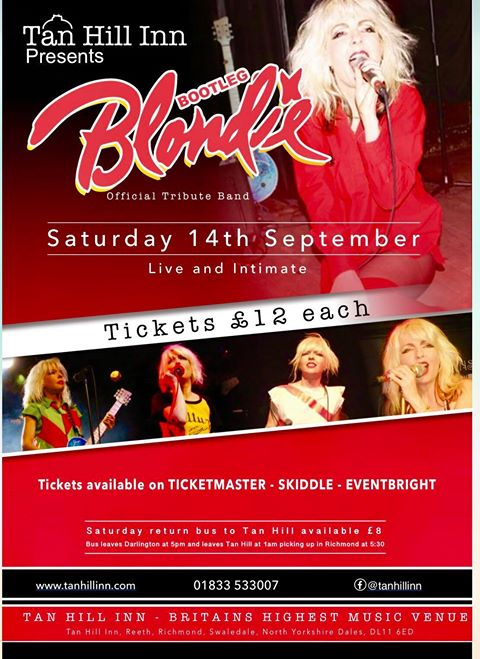 Bootleg Blondie - Official Blondie Tribute Band - Shows